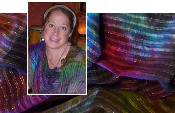 Elaine & fabric