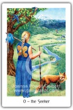 Seeker card Gaian Tarot