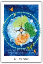 Wheel card Gaian Tarot