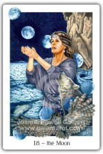 Moon card Gaian Tarot