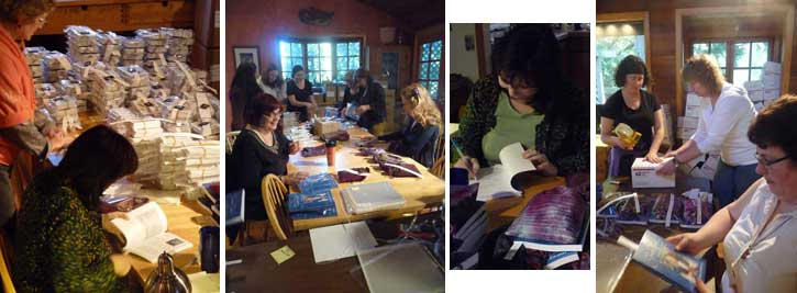 Gaian Tarot Packing Party