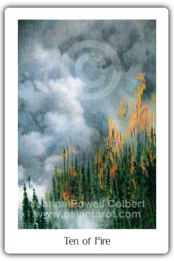 Ten of Fire post image